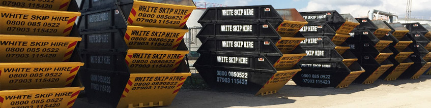 skip hire company in East London